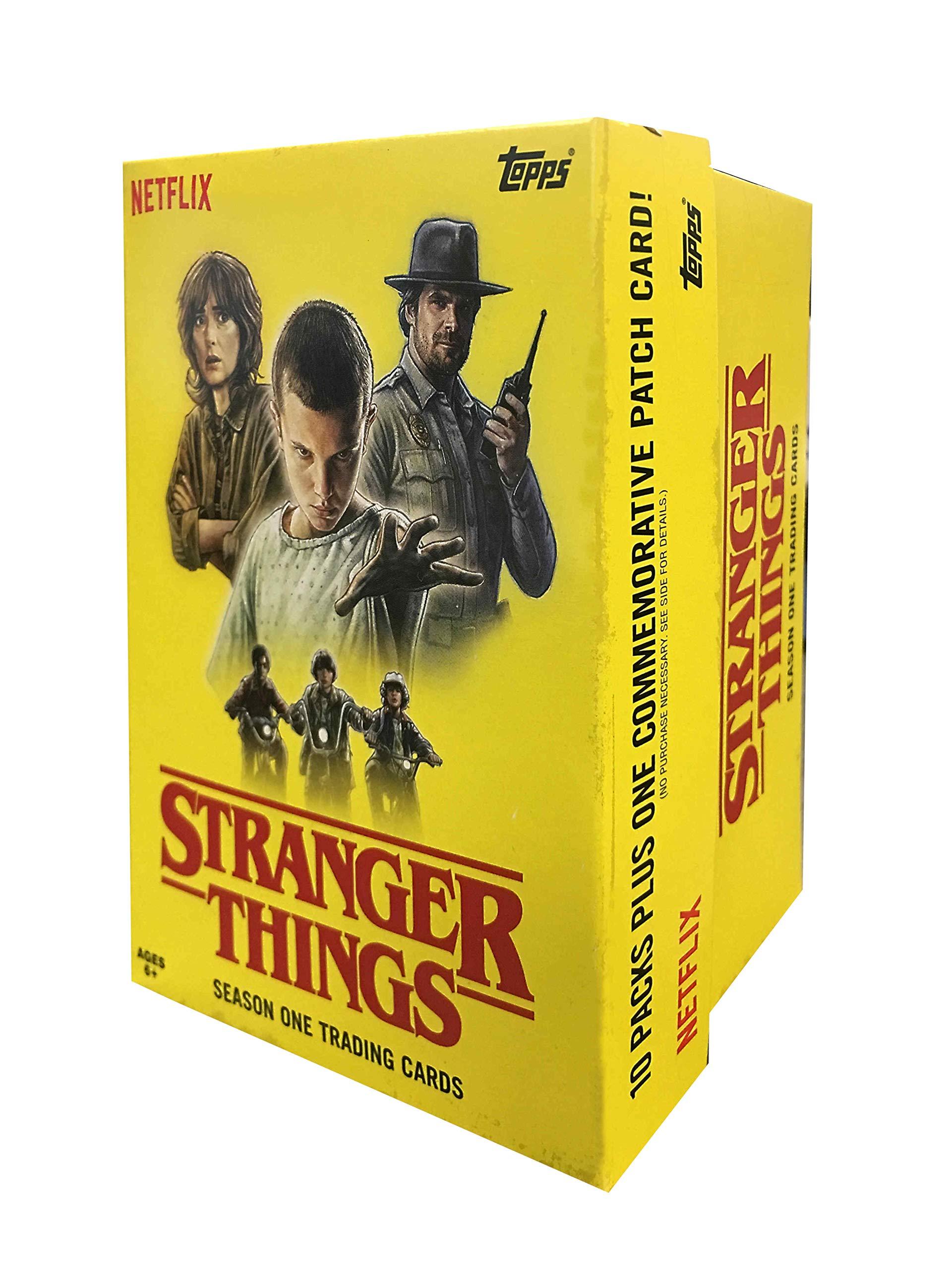 Topps Cards: Stranger Things Value Box