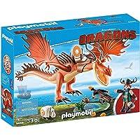 Playmobil 9459 Snotlout and Hookfang