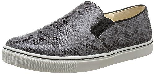 Buffalo 326793 IMI Snake - Zapatillas de casa de Material sintético Mujer, Color Gris, Talla 41: Amazon.es: Zapatos y complementos