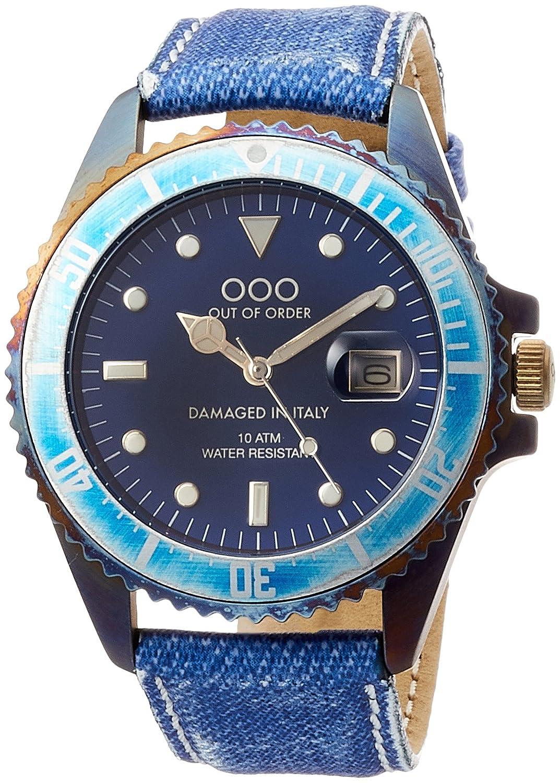[アウトオブオーダー]Out Of Order 腕時計 QUARZO 40mm イタリア製 001-2.JC 【正規輸入品】 B071F838L6
