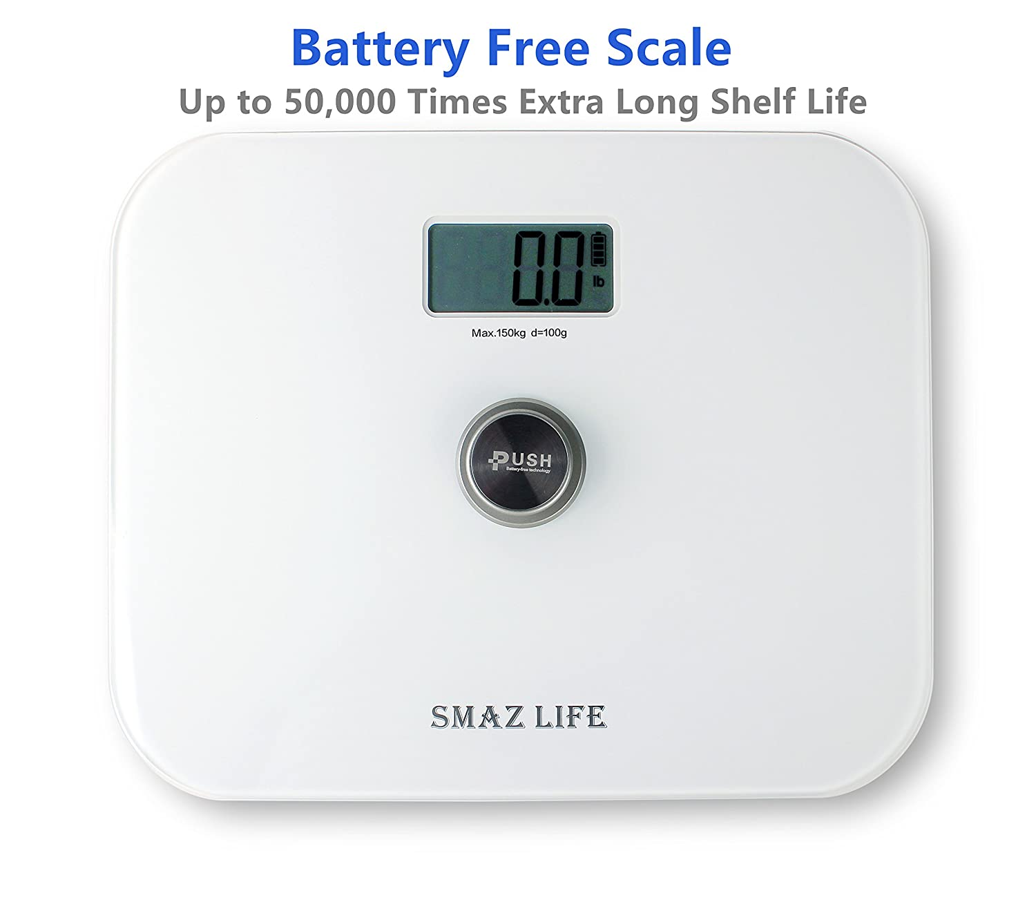 Bathroom Scale Without Batteries