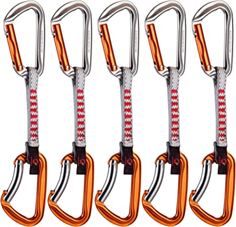 Mammut 5ER Pack Wall Key Lock Express Sets Mosquetón, Unisex ...