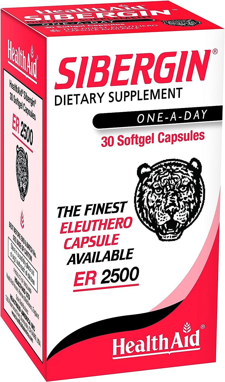 Healthaid, Sibergin Eleuthero, 30 Tablets