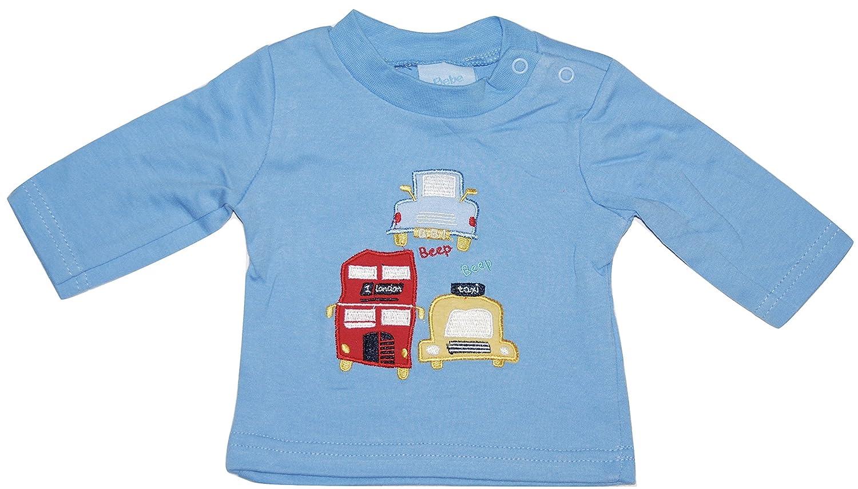 d4839a43c Bebe Bonito Baby Boy T Shirts Tops 2 Piece Set Cars Stripes Newborn ...