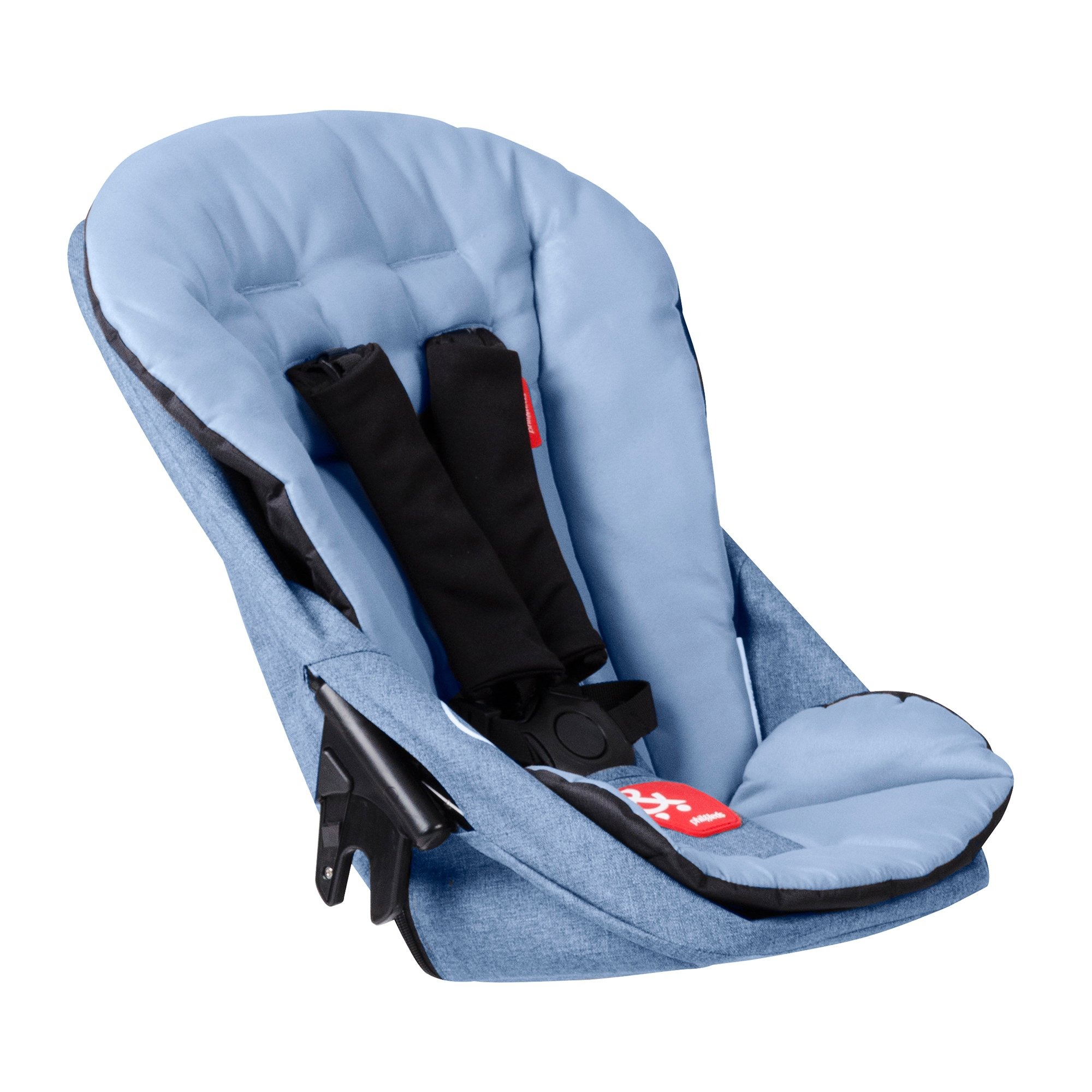 phil&teds Dash Second Seat, Blue Marl