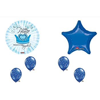 Amazon Com Prince Kingdom Baby Boy Shower Balloons