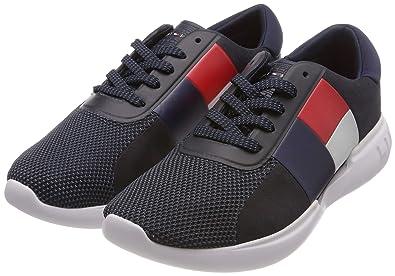 7d40130cd46e Tommy Hilfiger Herren Lightweight Mens Runner Sneaker, Blau (Midnight 403),  40 EU
