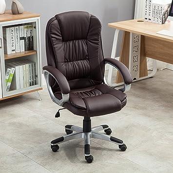 Amazoncom Belleze Ergonomic Office PU Leather Chair Executive