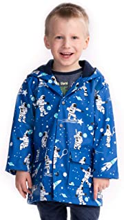 Hatley Boys Raincoat - Lots Of Sharks, Tela Cerata per Bambini e Ragazzi RC6OCSR025