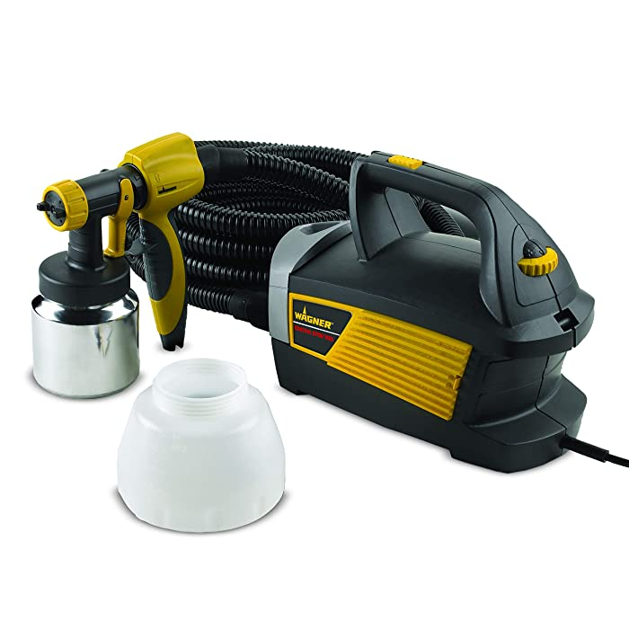 Wagner Spraytech 0518080 Control Spray Max Corded Hvlp Paint Sprayer, 120 Vac, 5 A, 510 W, 80 Cfm, 2.7 Psi, Multicolor