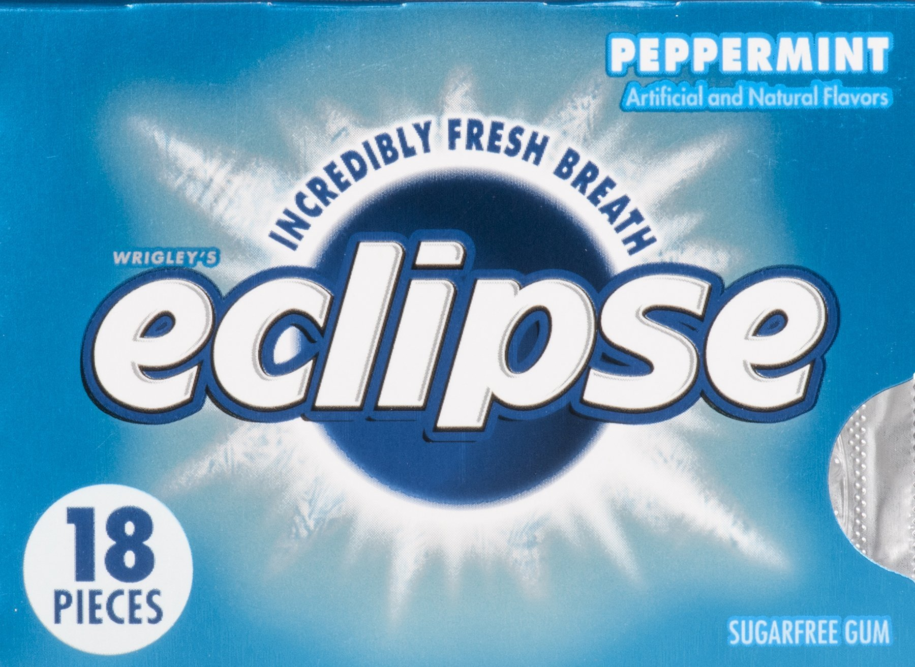 ECLIPSE GUM PEPPERMINT - 2 ct. of BOX/8