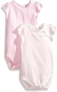 Rosie Pope Baby Girls Dip Dyed Ruffle Romper RPBF7G008-BLU