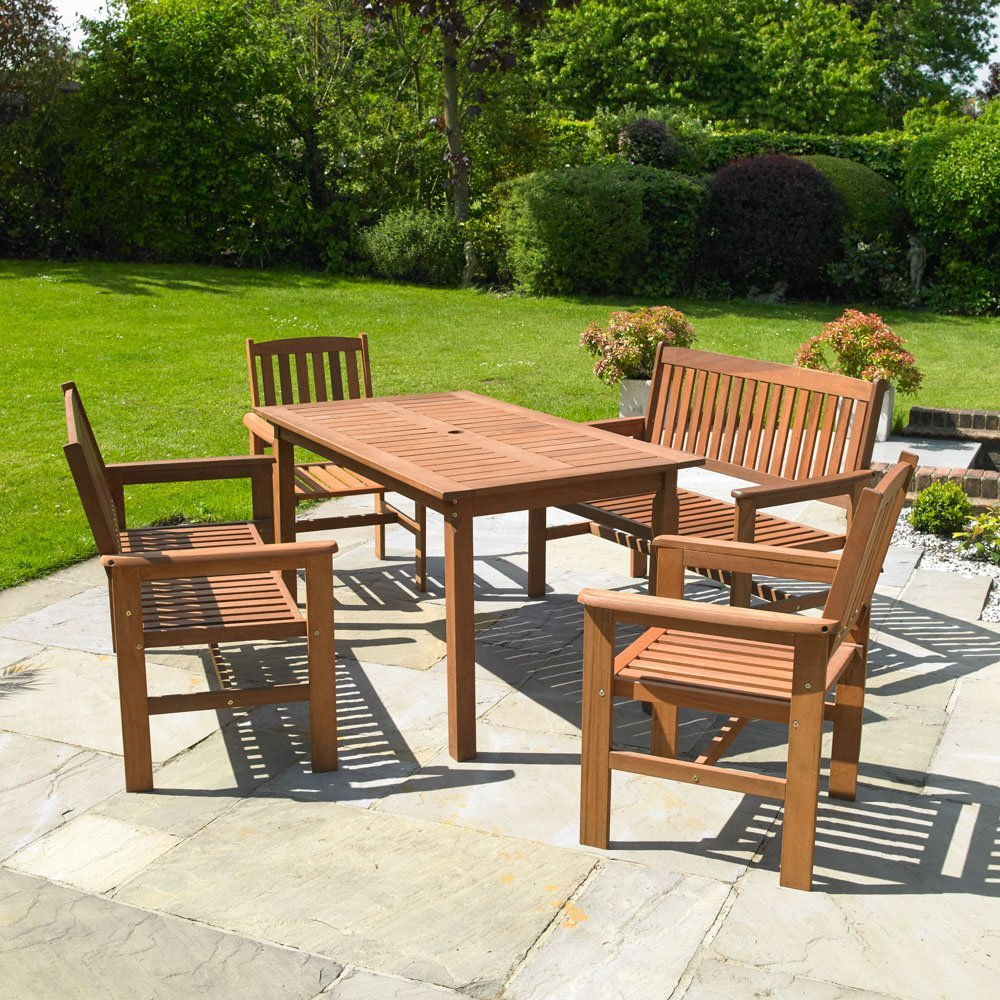 Outdoor Patio Furniture Sale Amazon: Wood Garden Furniture: Amazon.co.uk