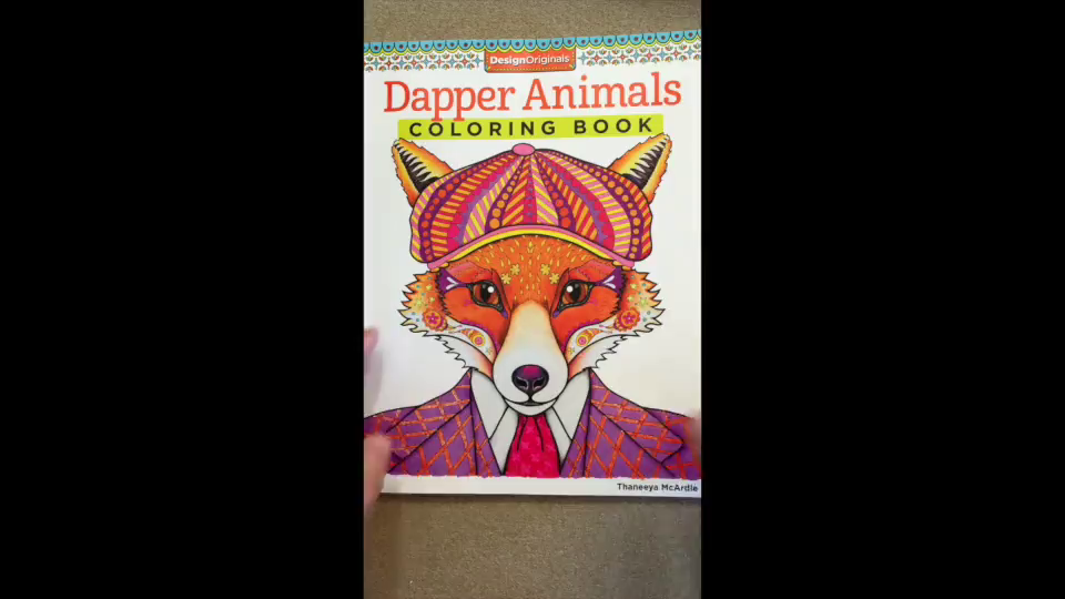 This Coloring Book Is A Fun Set Of 30 Oh So Cool And Stylish Animals They Are Dressed In Some Very Trendy Unusual Fashions At Least For