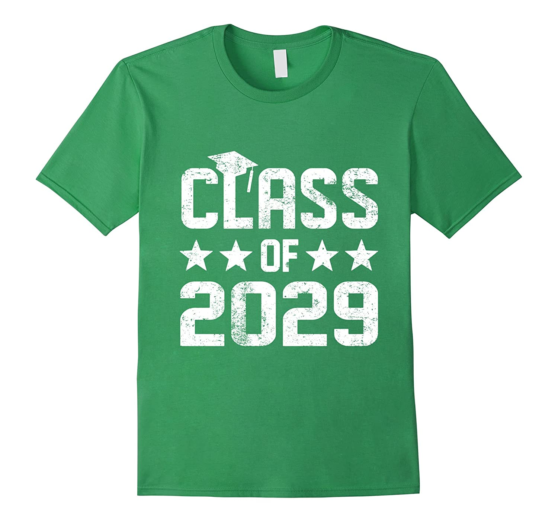 2029 Kindergarten Graduation Shirt Kids Boys Girls Cap Gown-CD ...