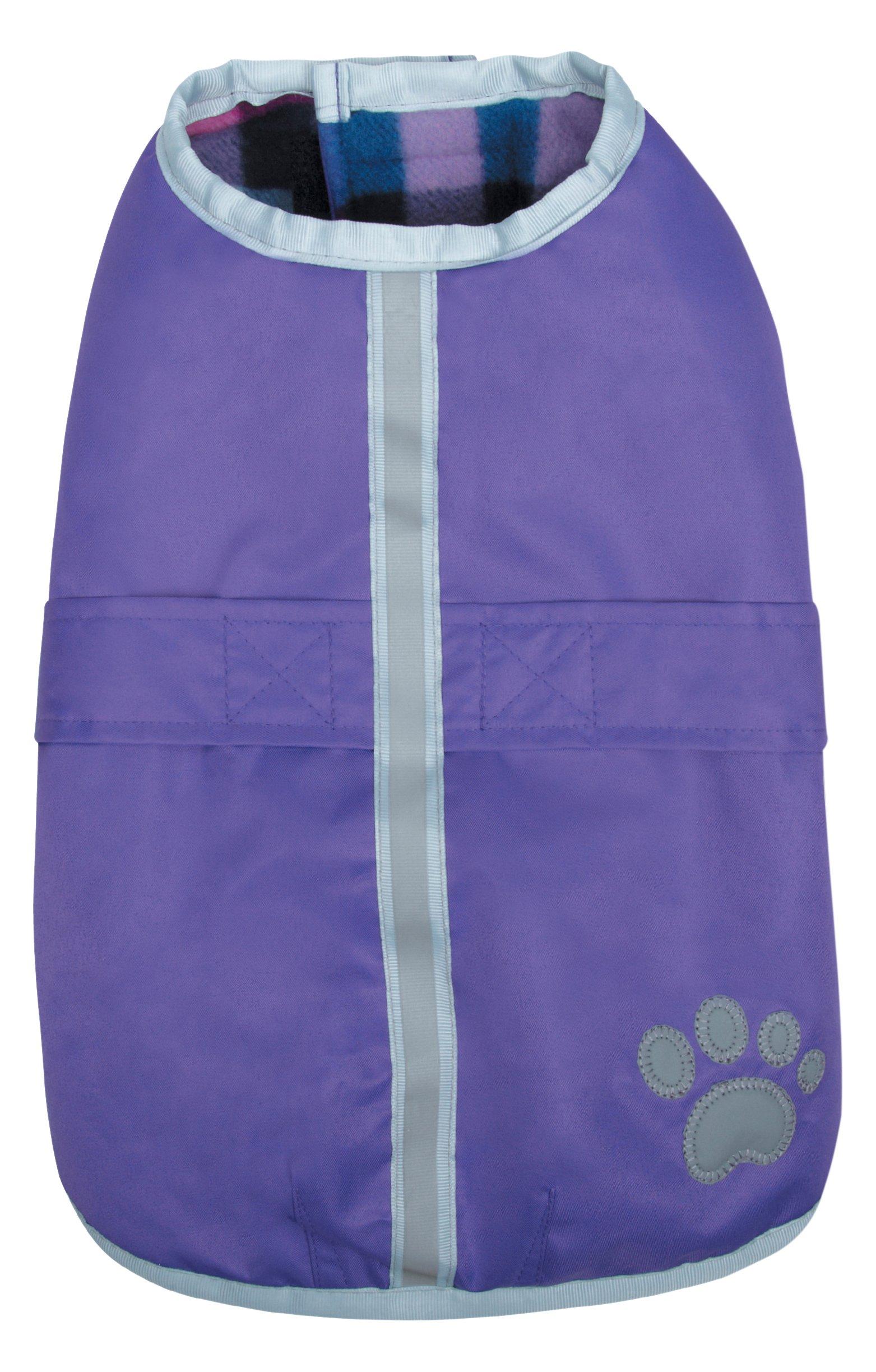 Zack & Zoey Nor'Easter Blanket Coat, X-Small, Purple