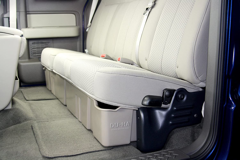 F150 Under Seat Storage >> Du Ha Under Seat Storage Fits 09 14 Ford F 150 Supercab Black Part 20071