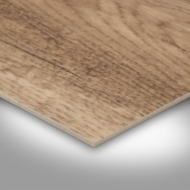 Holzoptik Diele Eiche hell 400 cm breit 300 BODENMEISTER BM70568 Vinylboden PVC Bodenbelag Meterware 200