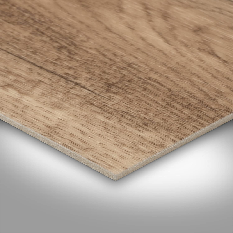 300 BODENMEISTER BM70568 Vinylboden PVC Bodenbelag Meterware 200 400 cm breit Holzoptik Diele Eiche hell