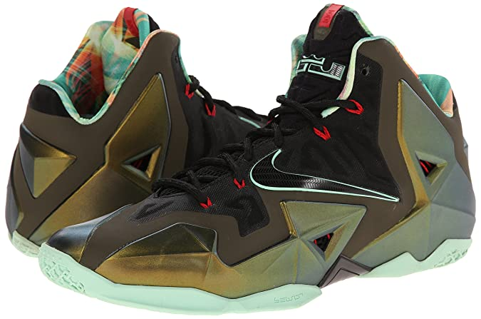d1a403965131 Nike Men s Synthetic Lebron Xi King s Pride Basketball Shoes