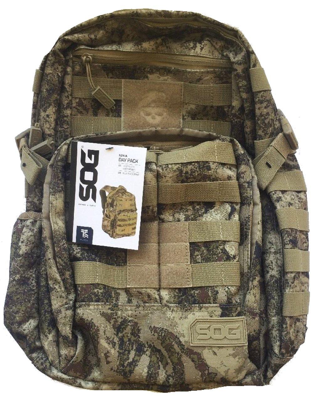 SOG Ninja Tactical Daypack Backpack Desert Camo Molle by SOG (Image #1)