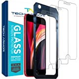 Tech Armor Premium Ballistic Tempered Glass Screen Protector for Apple iPhone SE 2020, iPhone 8 and iPhone 7 - with 99…