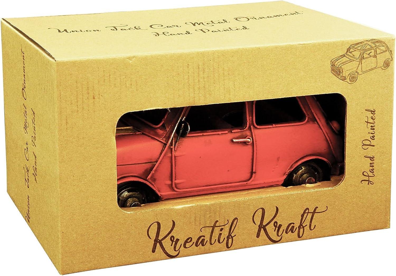 Kreatif Kraft peint à la main Métal Ornement Modèle-Boîte aux lettres