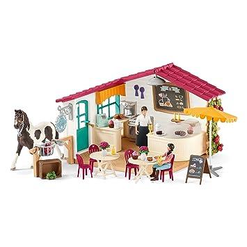 Schleich 42417 Reiter Café Spielzeug Amazonde Spielzeug