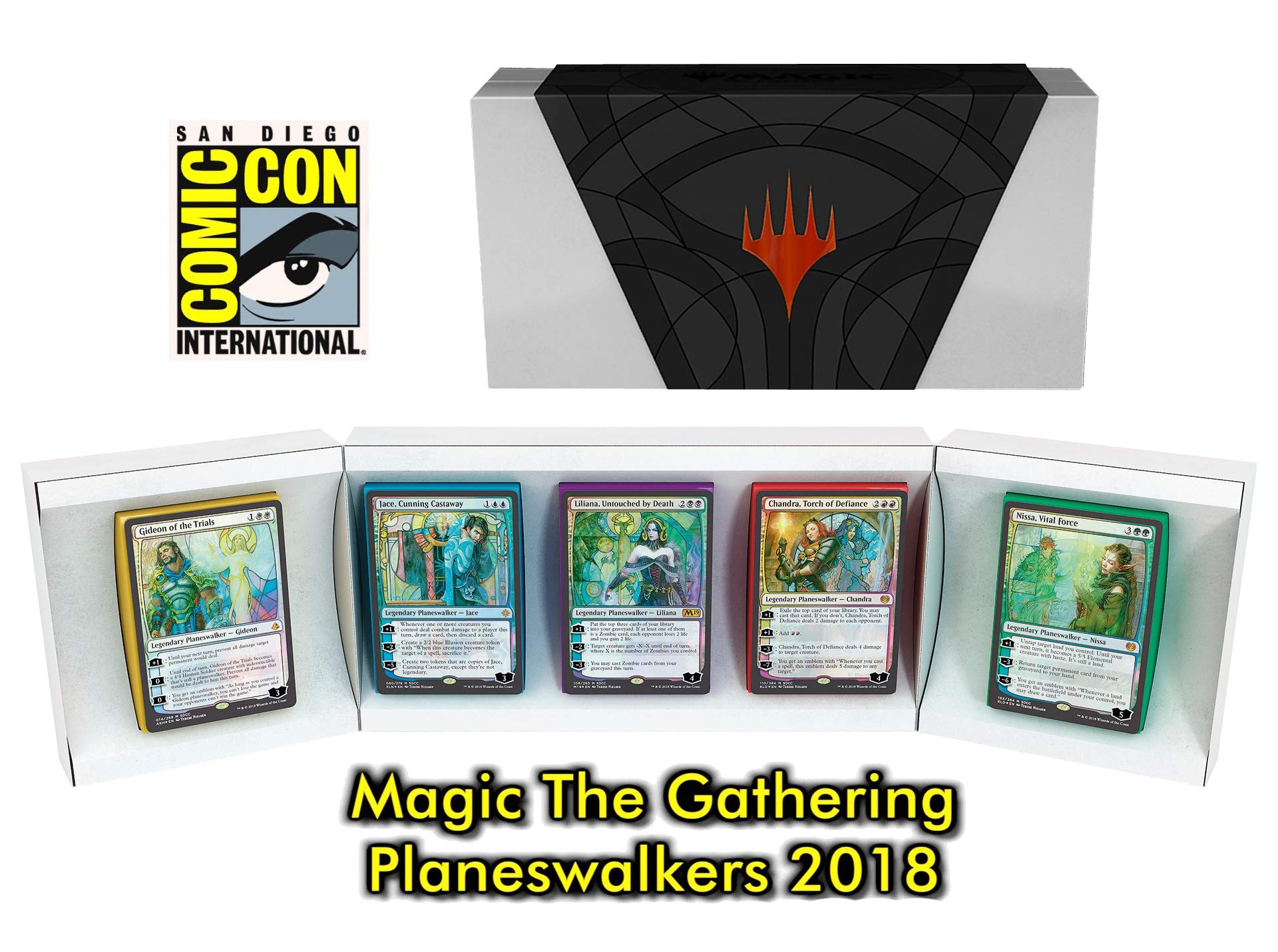 SDCC 2018 Limited Edition Exclusive!! _Magic: The Gathering (MTG), Timeless Legends Box Set
