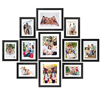 Amazoncom Voilamart Picture Frames Set Of 11 Multi Pack Photo