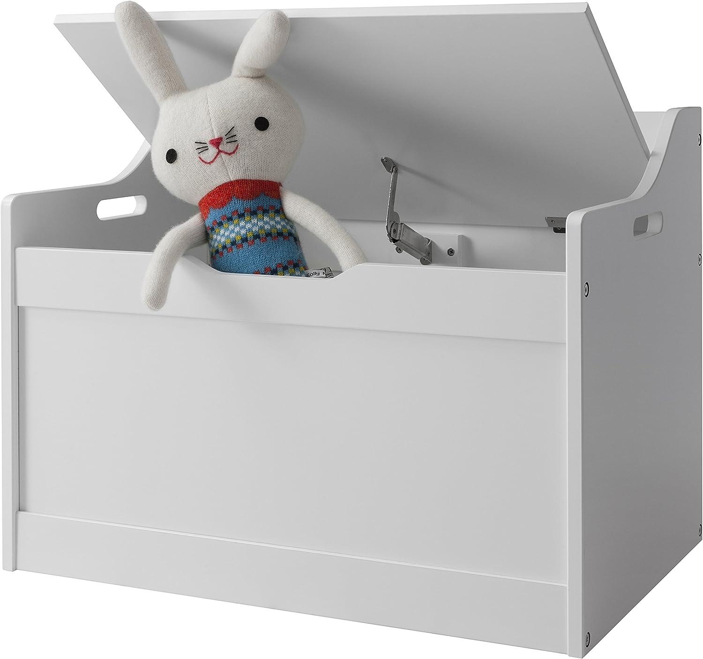 Lola White Toy Box | Toy Storage