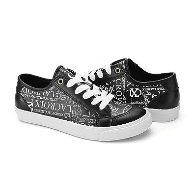 3dc04bdd18a Christian Lacroix Womens Julietta Low Rise Lace Up CXL Graffiti Print  Sneaker