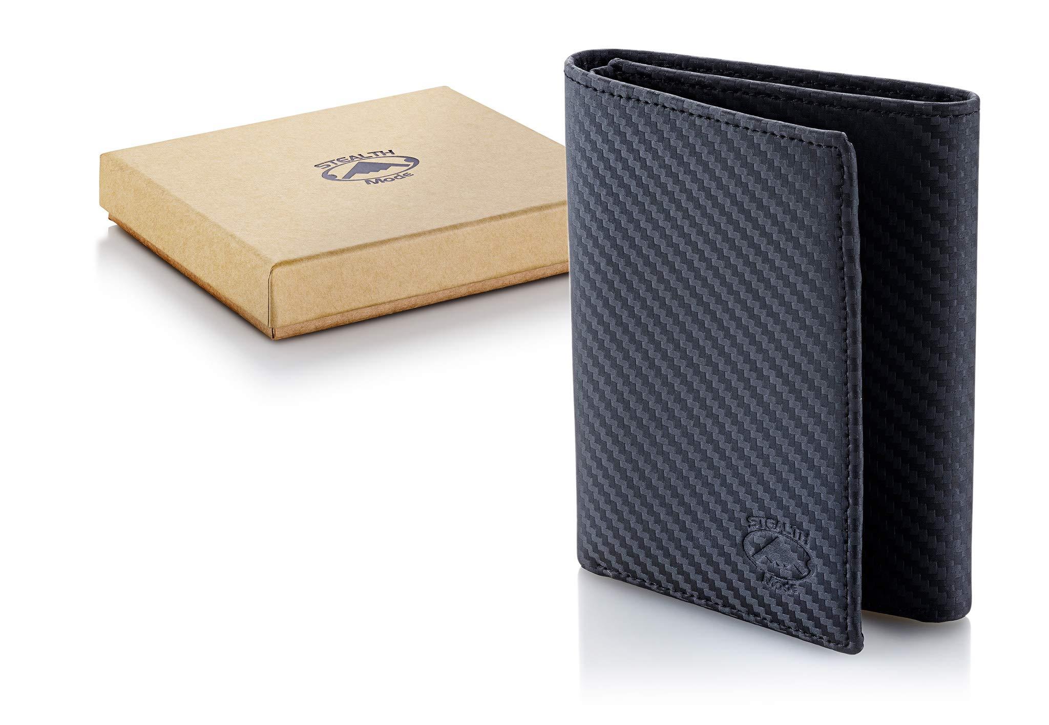 Stealth Mode Trifold RFID Blocking Carbon Fiber Wallet for Men by Stealth Mode (Image #4)