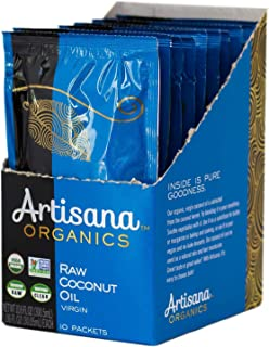 product image for Artisana Organics Raw Virgin Coconut Oil (10 Pack (1.06 oz))