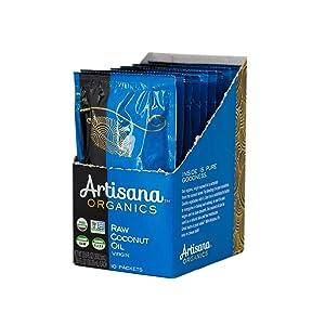 Artisana Organics Raw Virgin Coconut Oil (10 Pack (1.06 oz))