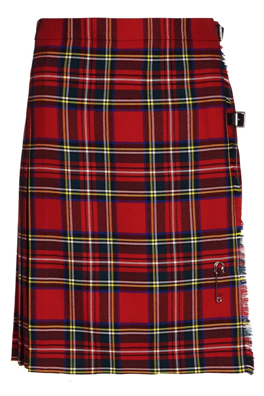 Ladies Short Kilt In Pure New Wool (6, Royal Stewart)