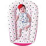 Premium Baby Lounger - Durable Cotton Blend Co Sleeper - Soft Portable Baby Nest Sleeper - Perfect for Co Sleeping and…