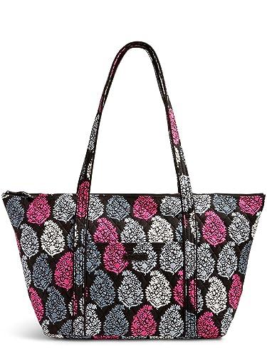 c3b29c86a5d6 Vera Bradley Quilted Signature Cotton Miller Travel Bag (Pink Northern  Lights)