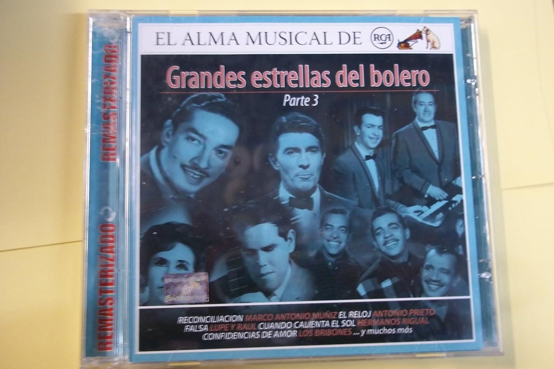 VARIOUS - GRANDES ESTRELLAS DEL BOLERO EL ALMA MUSICAL DE - Amazon.com Music