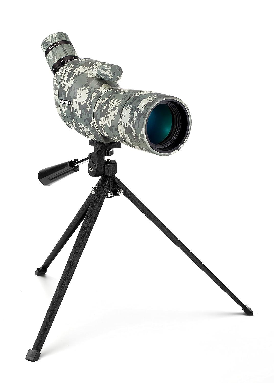 p/ájaros y paisajes claramente. permitiendo a los usuarios ver animales HUTACT Telescopio terrestre amplificaci/ón m/áximo de 60 veces con Objetivo de 60mm de ancho