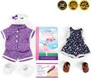 "Club Eimmie - 18"" Doll Accessory Monthly Subscription w/Trendy Romper Intro"
