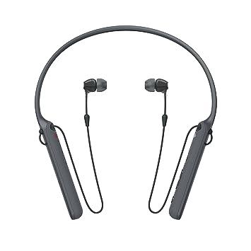 Sony - C400 inalámbrico Behind-Neck en Auriculares de botón Negro (wic400/B): Amazon.es: Electrónica