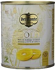 Del Monte Piña en Jugo Extra Dulce Rodajas - Paquete de 6 x 920 gr -