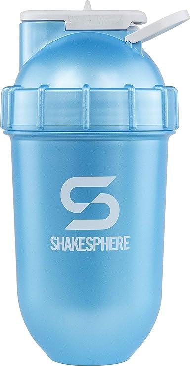 New ShakeSphere Tumbler- Vaso mezclador de proteínas y bidón– Para batidos, zumos, etc.- Se puede limpiar fácilmente- No requiere el uso de batidora o ...