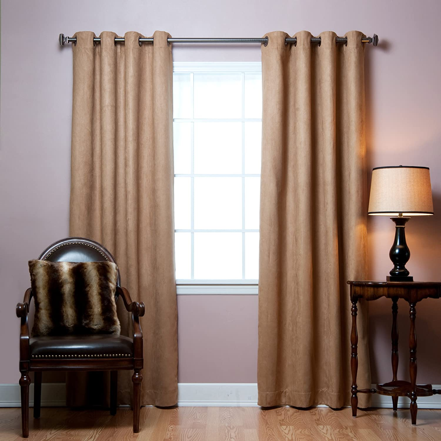 curtain moroccan gradient top print pin treatment window amazon curtains grommet blackout com insulated thermal deconovo