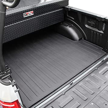 Amazon Com Westin Rubber Truck Bed Mat Custom Fit For 2015 2020 F 150 6 5ft Bed 50 6365 Black 1 Pack Automotive