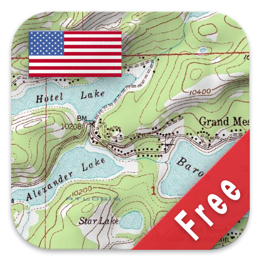 Amazoncom US Topo Maps Free Appstore For Android - Topagraphical map of us