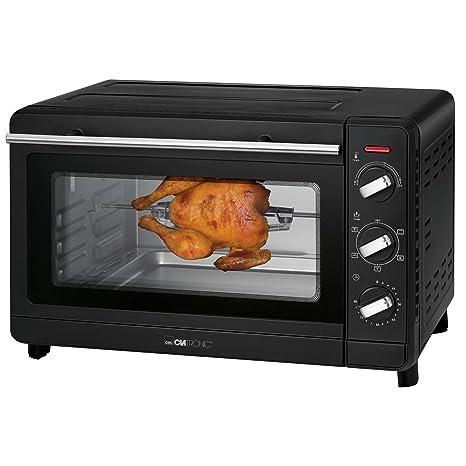 Mini horno Clatronic MBG 3728 Aire Caliente función 30l: Amazon.es ...