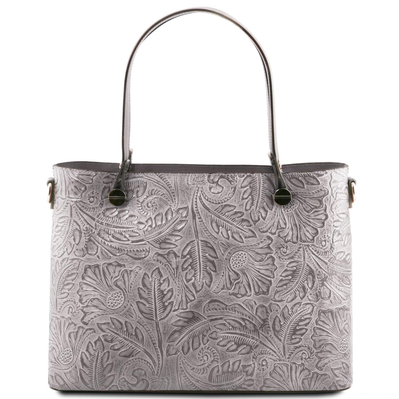 OutletStore Online 81416554 ATENA Shopping Tasche aus Leder mit ...