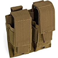 Red Rock Outdoor Gear Double Pistol Mag Pouch, Coyote